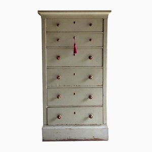 Tall Gustavian Chest of Drawers, 1850s