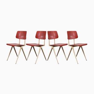 Chaises de Salle à Manger Modèle S16 de Galvanitas, 1960s, Set de 4