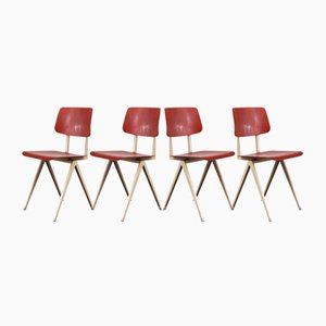 Model S16 Dining Chairs from Galvanitas, 1960s, Set of 4