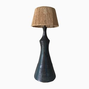 Lampada vintage in ceramica, anni '60