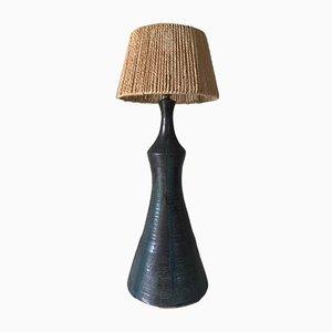Vintage Keramik Lampe, 1960er