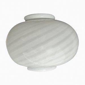 Aplique de cristal de Murano con vidrio soplado, años 70
