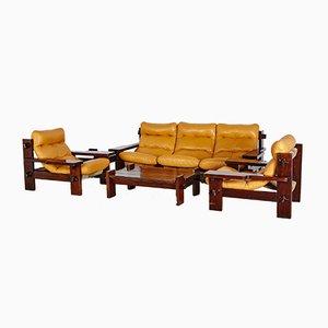 Juego de sofás brasileño de Jean Gillon para Probel, años 60