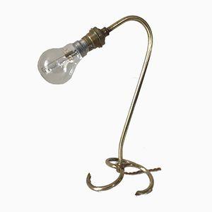 Vintage Messing Lampe, 1960er