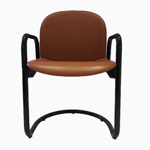 Vintage Italian Dialogo Chair by Tobia & Afra Scarpa for B&B Italia