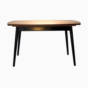 Esstisch mit Kiefernplatte, 1960er