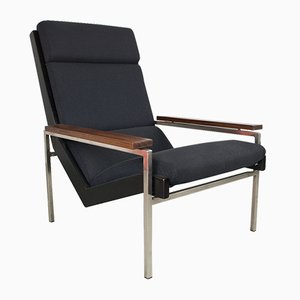 Men's Lotus Chair in Schwarz von Rob Parry für De Ster Gelderland, 1960er