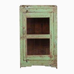 Vintage Indian Pastel Green Balaji Cabinet