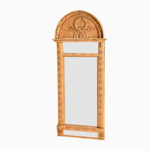 Antique Swedish Empire Mirror from Johan Martin Berg
