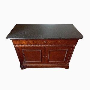 French Mahogany Secretaire Dresser, 1830s