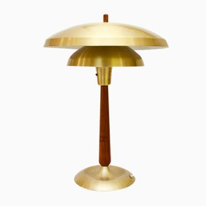Norwegian Table Lamp from T. Røste & Co, 1950s