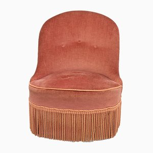 Chaise Crapaud Vintage