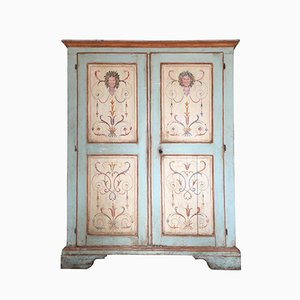 Italian Painted Armoire, 1740s