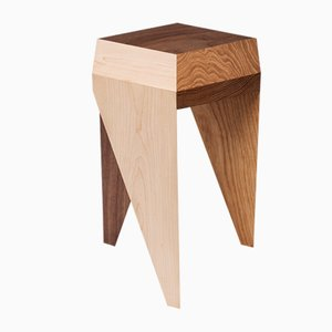 Rayuela Solid Wooden Stool by Alvaro Catalán de Ocón for ACdO/, 2017