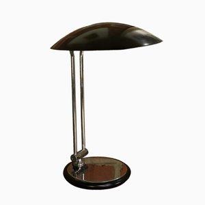 Lámpara de escritorio articulada vintage de Aluminor