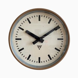 Industrial Clock from Pragotron, 1970s