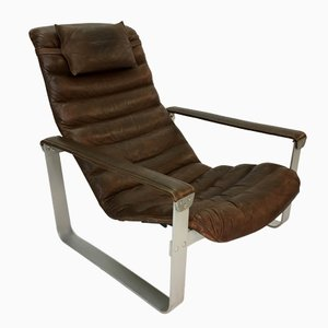 Pulkka Lounge Chair by Ilmari Lappalainen for Asko, 1960s