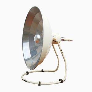 Lámpara de mesa alemana industrial, años 50