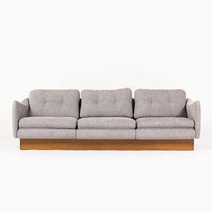 Französisches Teckel 3-Sitzer Sofa von Michel Mortier für Steiner, 1960er