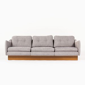 French Teckel 3-Seater Sofa by Michel Mortier for Steiner, 1960s