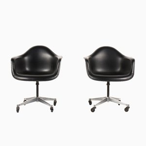 Sedie girevoli di Charles & Ray Eames per Herman Miller, anni '60, set di 2