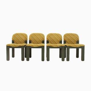 Chaises de Salon Easy par Ernesto Radaelli pour Saporiti, 1980s, Set de 4