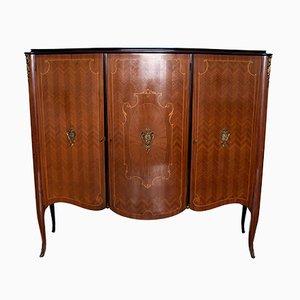Mueble bar de palisandro y álamo de Malberti Leopoldo, años 50