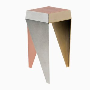 Rayuela 3 Metals Stool by Alvaro Catalán de Ocón for ACdO/, 2017