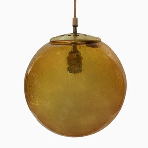 Vintage Glass Pendant from Biot