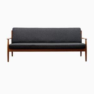 Danish Teak Sofa by Grete Jalk for France & Søn, 1960s