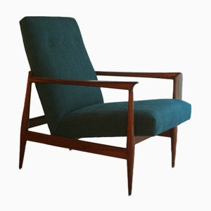 Mid-Century Portuguese Easy Chair, 1960s