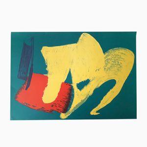 Lithograph Print by Gérard Schneider, 1983