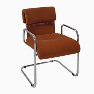 Stahl & Textil Stühle von Guido Faleschini für Mariani, 1970er, 4er Set