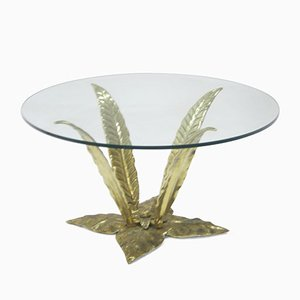 Table d'Appoint Vintage en Laiton, 1960s