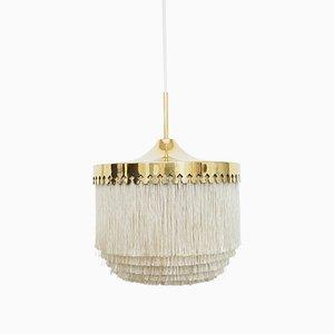 Lampe à Suspension Modèle T601/M à Franges par Hans Agne Jakobsson pour Markaryd, 1960s