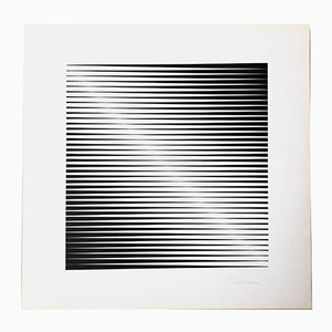 Edition 230 Serigraph by Getulio Alviani for Panderma Editions, 1977