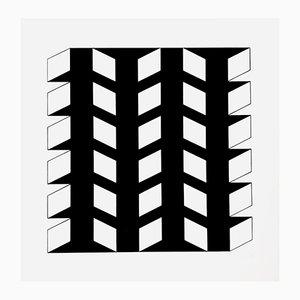 Serigrafie von Imre Kosics für Panderma Editions, 1977