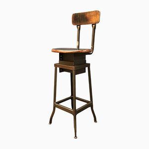 Work Stool from Toledo, 1920s