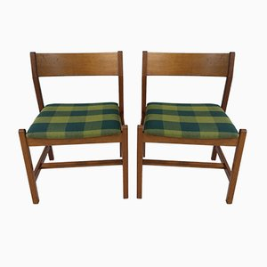 Mahogany Dining Chairs by Børge Mogensen for Fredericia, 1980s, Set of 2