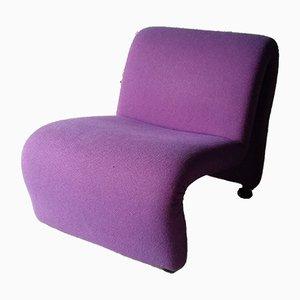Vintage Lounge Chair by Etienne Fermigier, 1970s