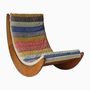 Sedia a dondolo Relaxer di Verner Panton per Rosenthal, 1974