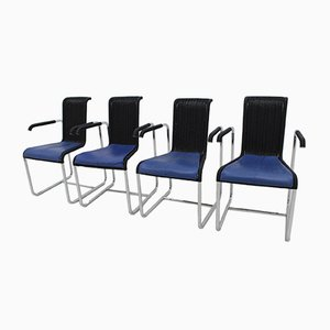 D20 Chairs by Jean Prouvé for Tecta, 1980s, Set of 4