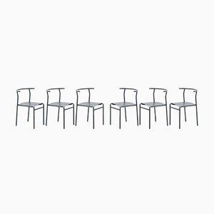 Chaises Café par Philippe Starck pour Baleri Italia, 1980s, Set de 6