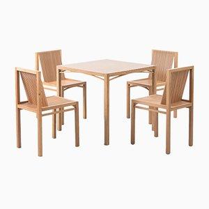 Table de Salle à Manger & Chaises par Ruud Jan Kokke Latjes, Pays-Bas, 1984
