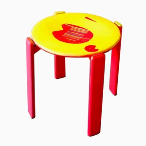 Pacman Stool by Markus Friedrich Staab