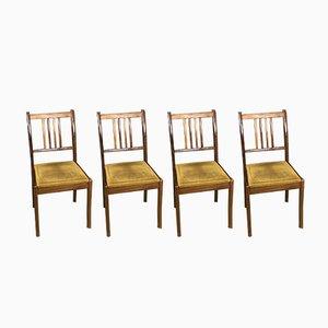 Vintage Teak Stühle, 1970er, 4er Set