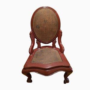 Antiker chinesischer lackierter Stuhl