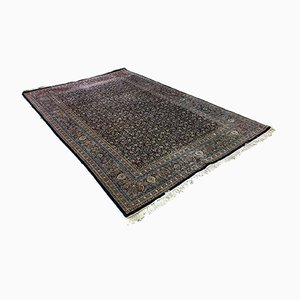 Handgearbeiteter Vintage Teppich, 1950er