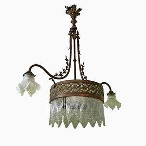 Plafonnier Art Nouveau Antique