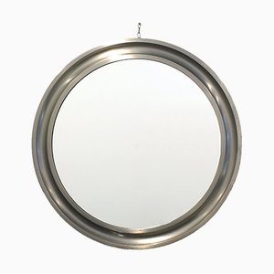 Modellierter runder Spiegel von Sergio Mazza für Artemide, 1960er